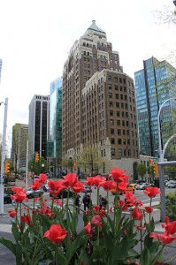 Our offices at the iconic Marine Building in Vancouver